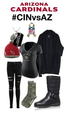 Arizona Cardinals What To Wear by azcardinals on Polyvore featuring Melissa McCarthy Seven7, Miss Selfridge, Duofold, Carhartt WIP, CinVsAZ and plus size clothing