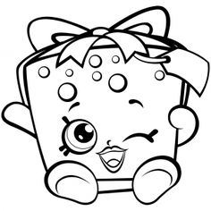Season 7 Shopkins Party Gift Coloring Pages Printable And Book To Print For Free Find More Online Kids Adults Of