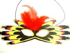 Karnawał. Maska karnawałowa dla dzieci