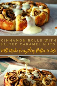 Best Cinnamon Rolls, Cream Cheese Glaze, Cinnamon Cream Cheeses, Dry Yeast, Melted Butter, Baking Pans, Pastries, Caramel, Sweet Treats
