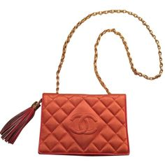 Pre-owned Chanel Vintage Coral Caviar Cross Body Bag ($2,433) ❤ liked on Polyvore featuring bags, handbags, shoulder bags, coral caviar, white purse, preowned handbags, white crossbody, crossbody shoulder bags and white crossbody purse