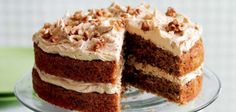 Coffee and Walnut Cake Recipe - Sainsbury's