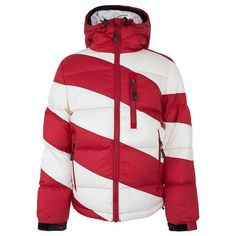 Perfect Moment Red Striped Super Mojo Jacket