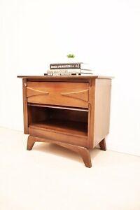 Vic Art Mcm Side Table Mcm Side Table Mcm Furniture Walnut