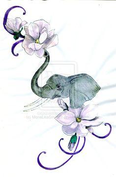 Half Elephant Tattoos Disney Tattoos – foot tattoos for women flowers Simple Elephant Tattoo, Elephant Tattoo Meaning, Elephant Tattoo Design, Elephant Tattoos, Mermaid Tattoos, Feather Tattoos, Foot Tattoos, Sleeve Tattoos, Tatoos