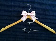 Personalized bridesmaid hanger, handmade, wedding ideas, bridesmaid dress, hanger, crafts, gift ideas, bridal party Bridesmaid Hangers, Bridesmaids, Bridesmaid Dresses, Hanger Crafts, Handmade Wedding, Clothes Hanger, Weddingideas, Gift Ideas, Bridal