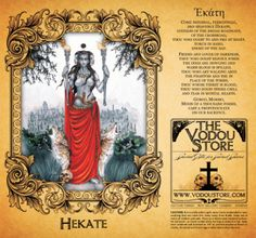 7-Day Candle Label - Hekate