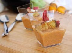 Denny Chef Blog: Crema di nespole e stracciatella con crudo e melanzane