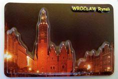 Pamiątkowy Magnes 3D Rynek we Wrocławiu.   Pamiątkowe Magnesy   Upominki24.com
