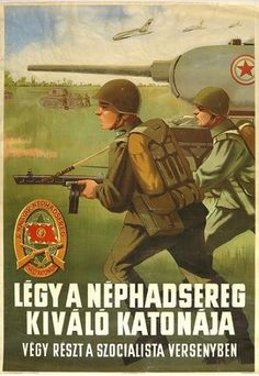People's Army of Hungary Poster