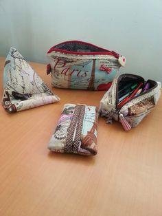 Costuraki: Conjuntos em tecido Deixo-vos fotos de alguns conj...