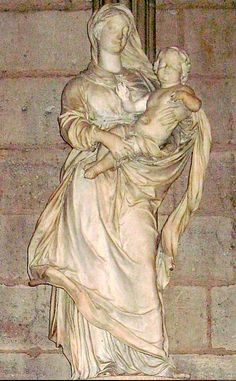 Mother and Child, Notre Dame, Paris