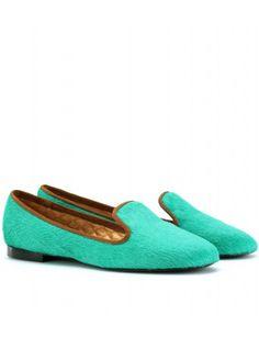 Mazzarina-slipper-style-haircalf-loafers by Avec Modération