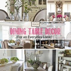 Decorating A Table everyday table centerpieces - google search | home decor
