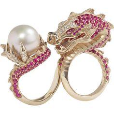 China Girl Dragon Ring