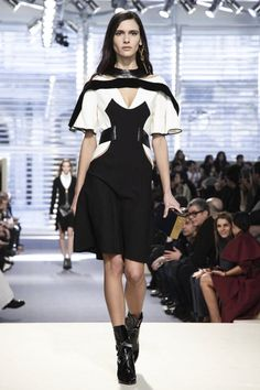 Louis Vuitton Fall Winter 2014 Paris...Interesting leather details to consider