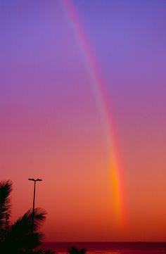 """Sunset with a rainbow,"" by mistca, via Flickr"
