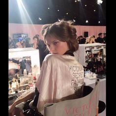 Pokaz Victoria's Secret 2014 - kulisy, fot. instagram