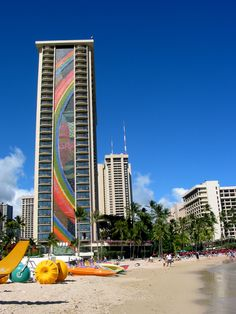 Hilton Waikiki Beach photo by Michele Nelson