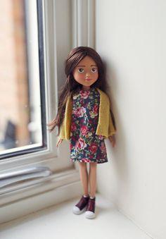 Eva - Makeunder Bratz/ Fashion Doll - Vintage Style **REDUCED PRICE**