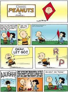 Lucy & Charlie Brown : just say please!