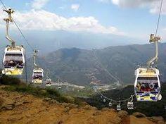 Colombia -  Teleferico a Panachi, Santander
