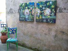 CASTèSTYLE exhibition in Castè square . Castè is a small medieval village in the nearby of La Spezia and very close to Porto Venere and cinque Terre . Photo by Gianluca Ghinolfi