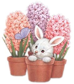 quenalbertini: For Decoupage illustr. by Ruth Morehead Tatty Teddy, Hoppy Easter, Easter Bunny, Thanksgiving Wallpaper, Diy Ostern, Easter Pictures, Art Pictures, Photos, Bunny Art