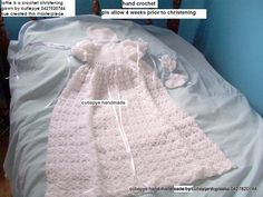 crochet gowns if you are wanting a crochet gown please place your order in now $140 per gown with satin or cotton lining