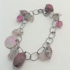 Rose quartz bead bracelet Rose quartz bead bracelet. 1161 Jewelry Bracelets