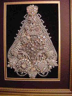Vintage - White Jewelry Christmas