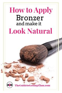 Learn these easy bronzer makeup tips in this makeup tutorial where you will learn how to apply powder bronzer step by step for a natural look. #howtoapplybronzer #bronzer #makeuptips