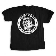 The Stray Cats Established 1979 Rockabilly Rock & Roll Music Tee Shirt Band Merch, Cat Shirts, Belts For Women, Branded T Shirts, Rockabilly, Rock And Roll, Shirt Designs, Mens Fashion, Tees