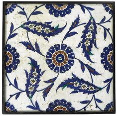A large Iznik tile, Turkey, 16th century | Lot | Sotheby's