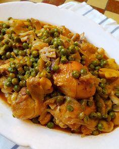 Home Recipes, Great Recipes, Dinner Recipes, Cooking Recipes, Favorite Recipes, Healthy Recipes, Low Carb Meats, Portuguese Recipes, Portuguese Food