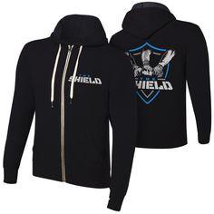 "The Shield "" Shield United"" Full Zip Hoodie Sweatshirt - WWE US"