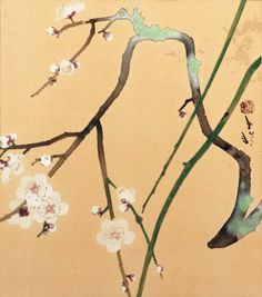 Find artworks by Ryushi Kawabata (Japanese, 1885 - on MutualArt and find more works from galleries, museums and auction houses worldwide. Japanese Art Styles, Japanese Love, Japanese Flowers, Japan Painting, Plant Painting, Japan Illustration, Botanical Art, Art Techniques, Flower Art