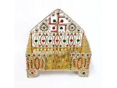 Swastik Design Sinhasan for Deity buy online from India