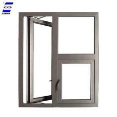 aluminum casement window new designs customized color Aluminium Gates, Aluminium Windows And Doors, Sliding Windows, Door And Window Design, Door Gate Design, Aluminum Windows Design, French Casement Windows, Cheap Blinds, Ceiling Design