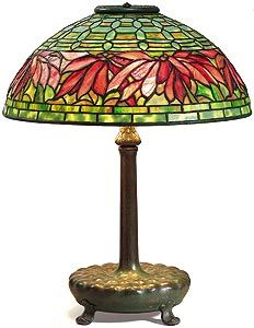 "words can't describe this beauty attributed to Louis Comfort Tiffany.... probably designed by Clara of his ""women's studio"