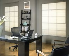 office window decor | Decorating Ideas from the interior designers at BlindsandDrapery.com
