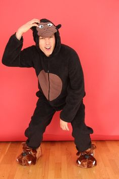 New Men's Gorilla ADULT ONESIE – PrimarkOnesies.com