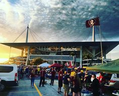 #Seminoles fans in front of the #HardRock #Stadium and ready to face the #Michigan #Wolverines! Thanks @popemillsbury  #SuperTailgate #tailgate #tailgating #win #letsgo #gameday #travel #adventure #stadium #party #sport #ESPN #jersey #sports #league #SportsNews #score #photooftheday #love #football #ncaaf #collegefootball