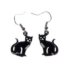 Noidan musta kissa-korvakorut