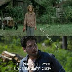 There's Full Shane Crazy and then there's Lizzie Crazy.