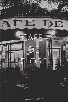 CAFÉ DE FLORE (6ème), mythe parisien