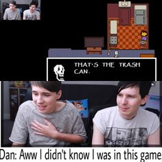 That part was so funny so I made this. We are all Dan here tbh. <<< phil's face tho Markiplier, Pewdiepie, Phan Is Real, Daniel James Howell, British Youtubers, Dan And Phill, Phil 3, Danisnotonfire And Amazingphil, Tyler Oakley