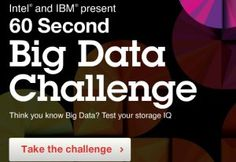 Take the big data challenge!