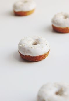 Carrot Cake Baked Donuts. YUM