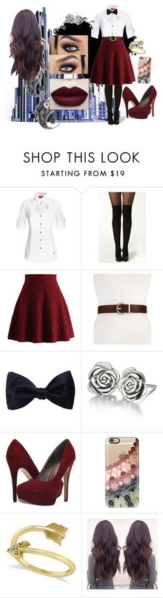 """""""Just bored #5"""" by mother-of-anime-pandas ❤ liked on Polyvore featuring Vivienne Westwood Red Label, Chicwish, Calvin Klein, Ike Behar, Chamilia, Michael Antonio, Casetify and Allurez"""